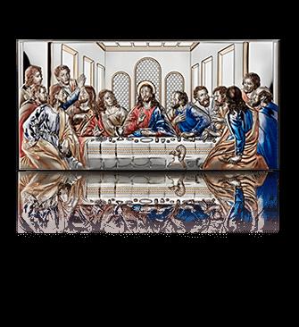 Ostatnia Wieczerza: obrazek srebrny - Valenti & Co