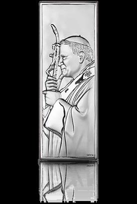 Jan Paweł II: obrazek srebrny - Beltrami