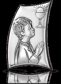 Pamiątka dla chłopca: obrazek srebrny - Valenti & Co