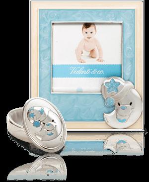 Ramka + pudełko na pierwszy ząbek: dla chłopca - Valenti & Co