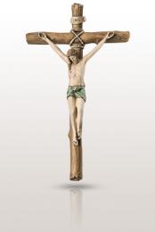 Krzyż z pasyjką: malowany - Valenti & Co