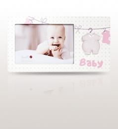 Ramka na zdjęcie dziecka: pamiątka na urodzinki, roczek - DouDou et Compagnie