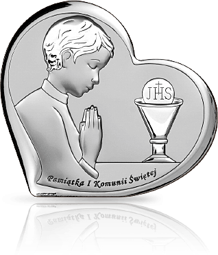 Pamiątka dla chłopca: obrazek srebrny - Beltrami