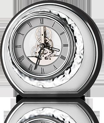 Srebrny zegar - Valenti & Co