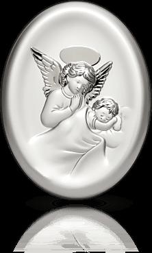 Aniołek: obrazek srebrny - Lilian Austin