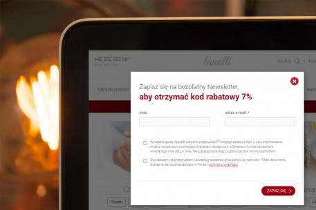 Zapisz się na newsletter i odbierz kod 7%