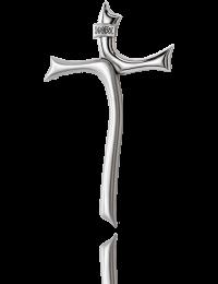 Krzyż wiszący: pokryty srebrem - MIDA  Argenti
