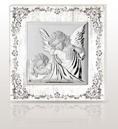Aniołek z latarenką: obrazek święty na drewnie - Beltrami