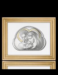 Święta Rodzina: Obraz w ramie za szkłem - Beltrami