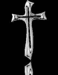 Krzyż wiszący: pokryty srebrem - Valenti & Co