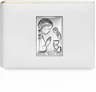 Album na zdjęcia komunijne: Pamiątka dla dziewczynki - Beltrami