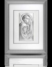 Święta Rodzina z Dzieciątkiem: Obraz w ramie za szkłem - Beltrami