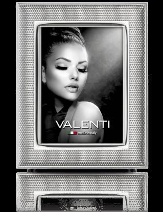 Ramka na zdjęcie: pokryta srebrem - Valenti & Co