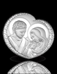 Święta Rodzina: obrazek srebrny - Beltrami