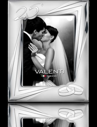 Ramka na zdjęcie: pamiątka 25 rocznicy ślubu - Valenti & Co
