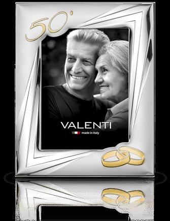 Ramka na zdjęcie: pamiątka 50 rocznicy ślubu - Valenti & Co