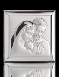 Święta Rodzina: obrazek srebrny - Valenti & Co