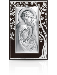 Święta Rodzina - Obraz srebrny na Ślub