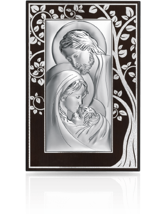 Święta Rodzina: Obraz srebrny na Ślub - Beltrami