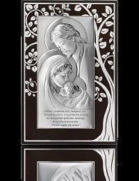 Święta Rodzina: Obraz srebrny na Ślub