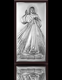 Jezu Ufam Tobie: obrazek srebrny - Beltrami