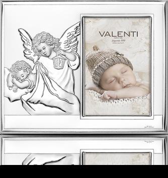Ramka na zdjęcie dla dziecka: Pamiątka Chrztu Świętego - Valenti & Co