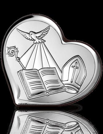Pamiątka Bierzmowania: obrazek srebrny - Beltrami