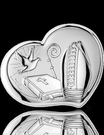 Pamiątka Bierzmowania: obrazek srebrny - Valenti & Co