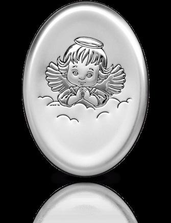 Aniołek: obrazek srebrny - Beltrami