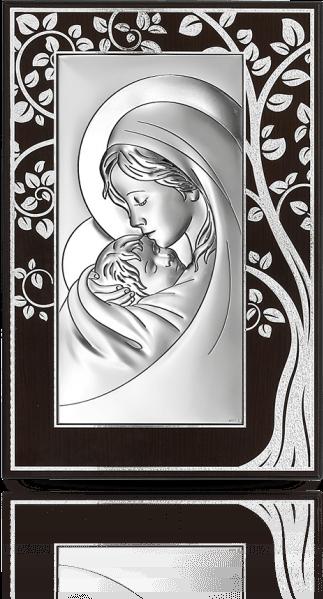 Matka Boża: Obraz srebrny - Beltrami