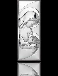 Matka Boska Karmiąca: obrazek srebrny - Valenti & Co