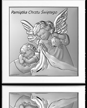 Aniołek z latarenką: Pamiątka Chrztu Świętego - Beltrami