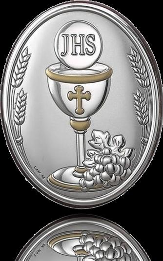 Pamiątka I Komunii: obrazek srebrny - Valenti & Co