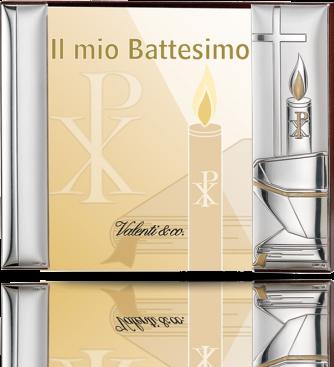 Ramka na zdjęcie: Pamiątka Chrztu Świętego - Valenti & Co